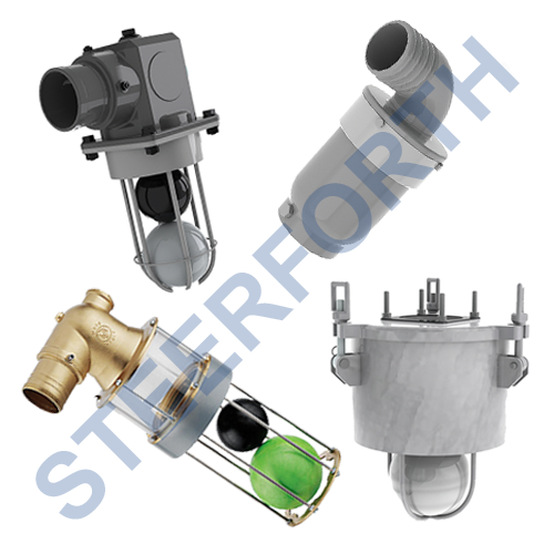 PRIMARY SHUT OFF OVERFLOW VALVES